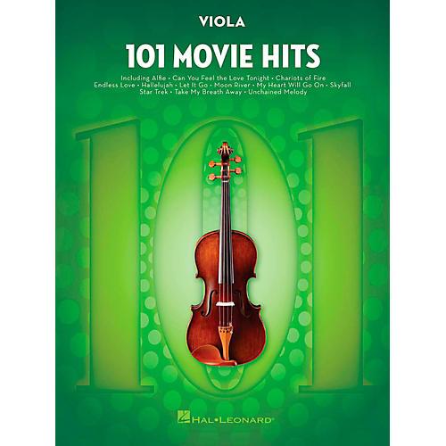 Hal Leonard 101 Movie Hits - Viola