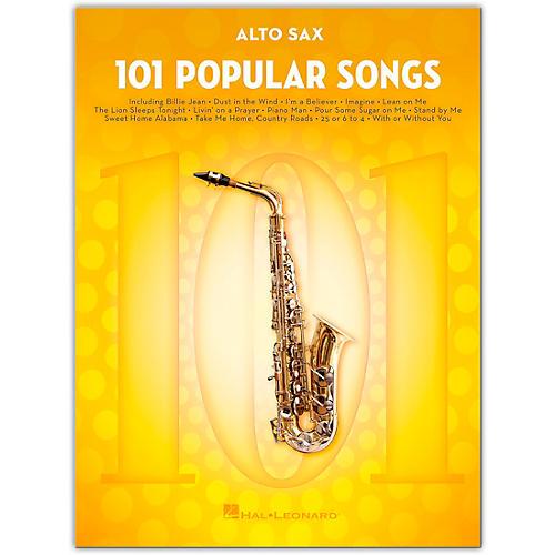 Hal Leonard 101 Popular Songs for Alto Sax