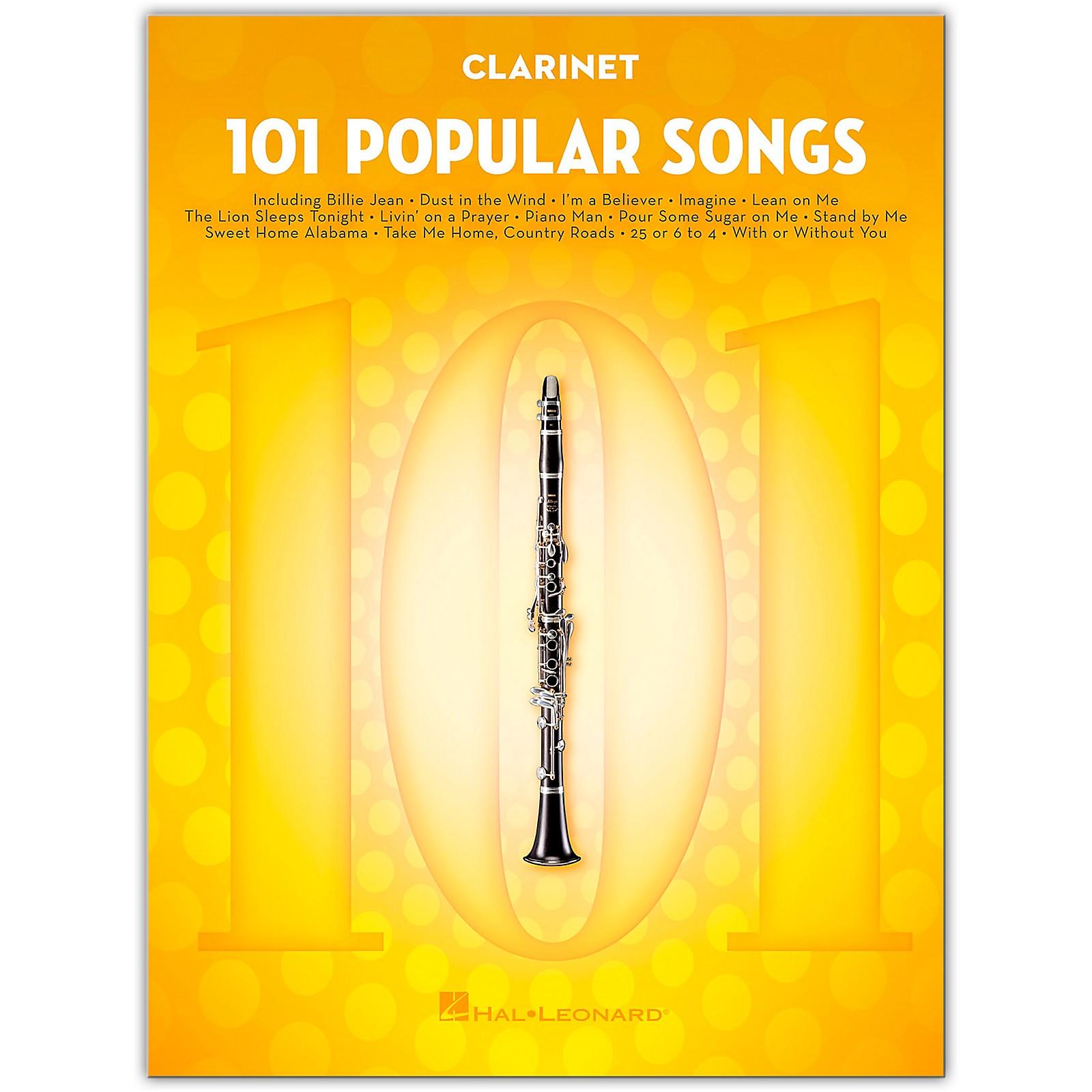 Hal Leonard 101 Popular Songs for Clarinet
