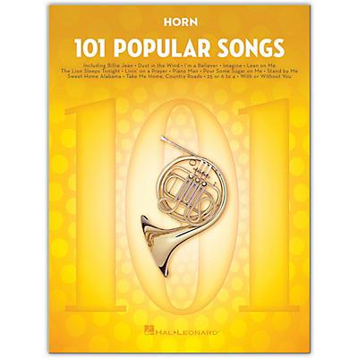 Hal Leonard 101 Popular Songs for Horn
