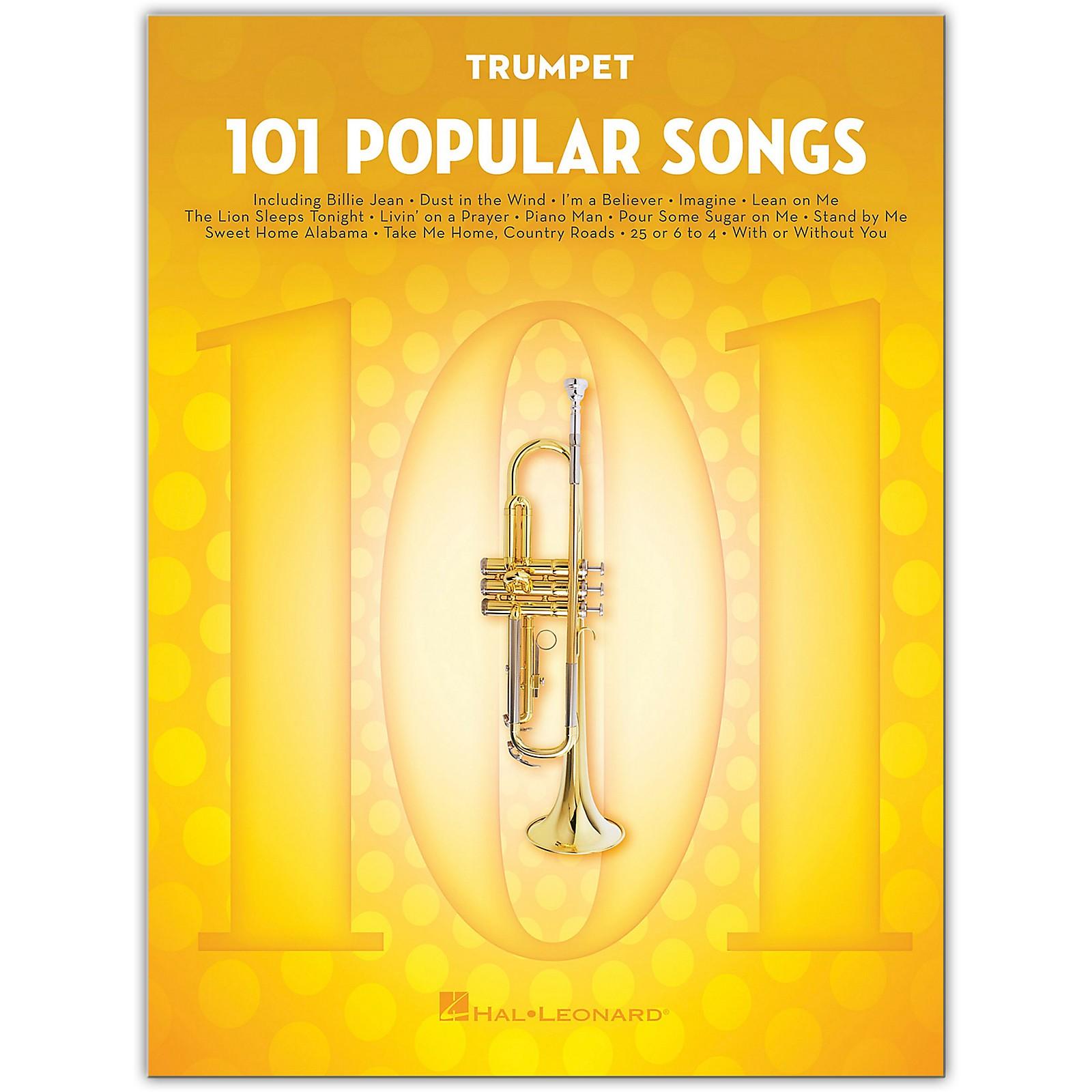 Hal Leonard 101 Popular Songs for Trumpet