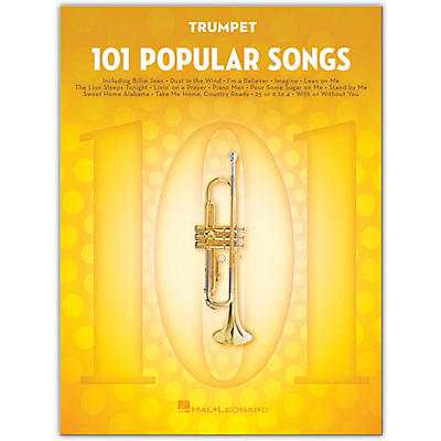 Hal Leonard 101 Popular Songs for Trumpet