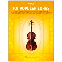Hal Leonard 101 Popular Songs for Viola