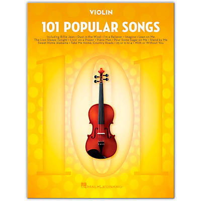 Hal Leonard 101 Popular Songs for Violin