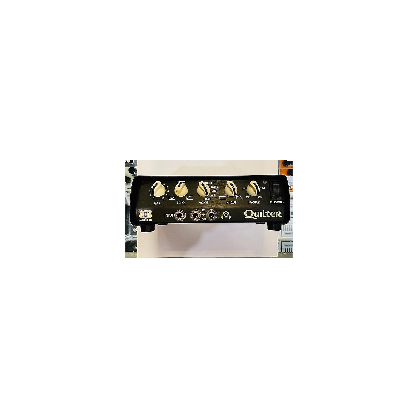Quilter Labs 101 Reverb Mini Lead Solid State Guitar Amp Head