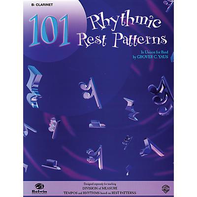 Alfred 101 Rhythmic Rest Patterns B-Flat Clarinet