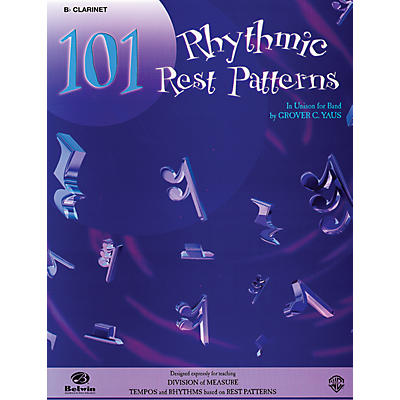 Alfred 101 Rhythmic Rest Patterns B-Flat Cornet (Trumpet)