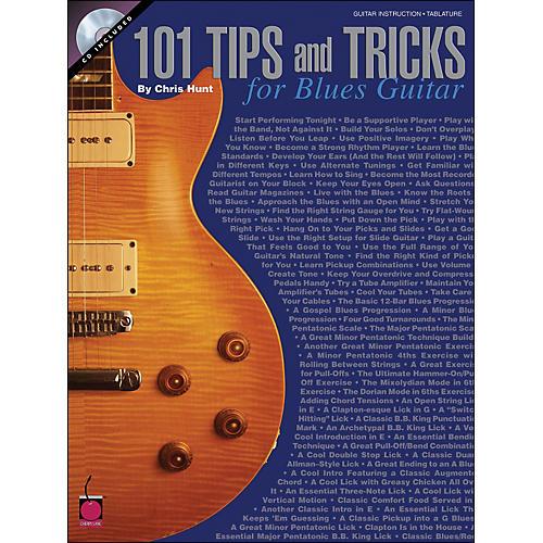 Cherry Lane 101 Tips & Tricks for Blues Guitar Book/CD