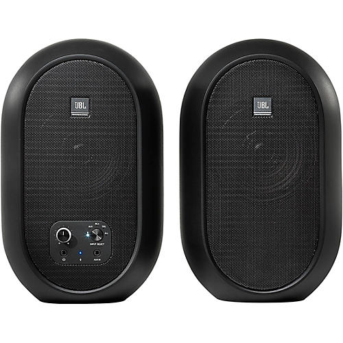 JBL 104-BT Compact Reference Monitors with Bluetooth Black