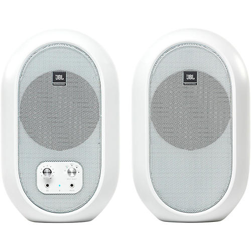 JBL 104-BT Compact Reference Monitors with Bluetooth White