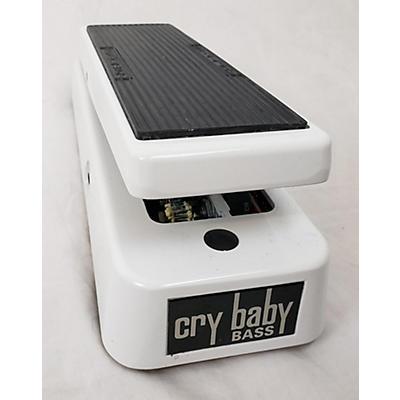 Dunlop 105Q Cry Baby Bass Wah Bass Effect Pedal