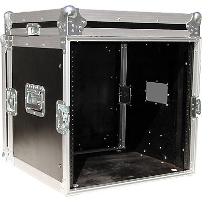 "Eurolite 10U 19"" Rack Mount Amp Case"