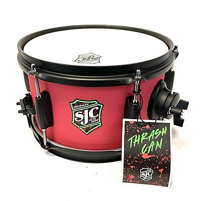 SJC Drums 10X6 THRASH CAN SIDE SNARE Drum