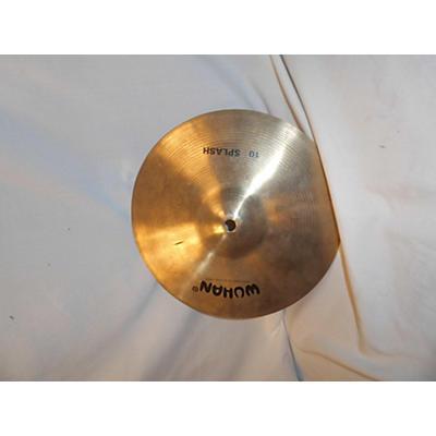 Wuhan 10in 10' SPLASH Cymbal