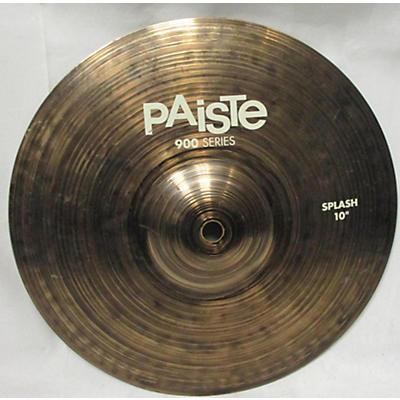 Paiste 10in 900 SERIES SPLASH Cymbal