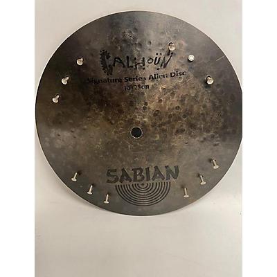 Sabian 10in Alien Disc Calhoun 10 Inch Cymbal