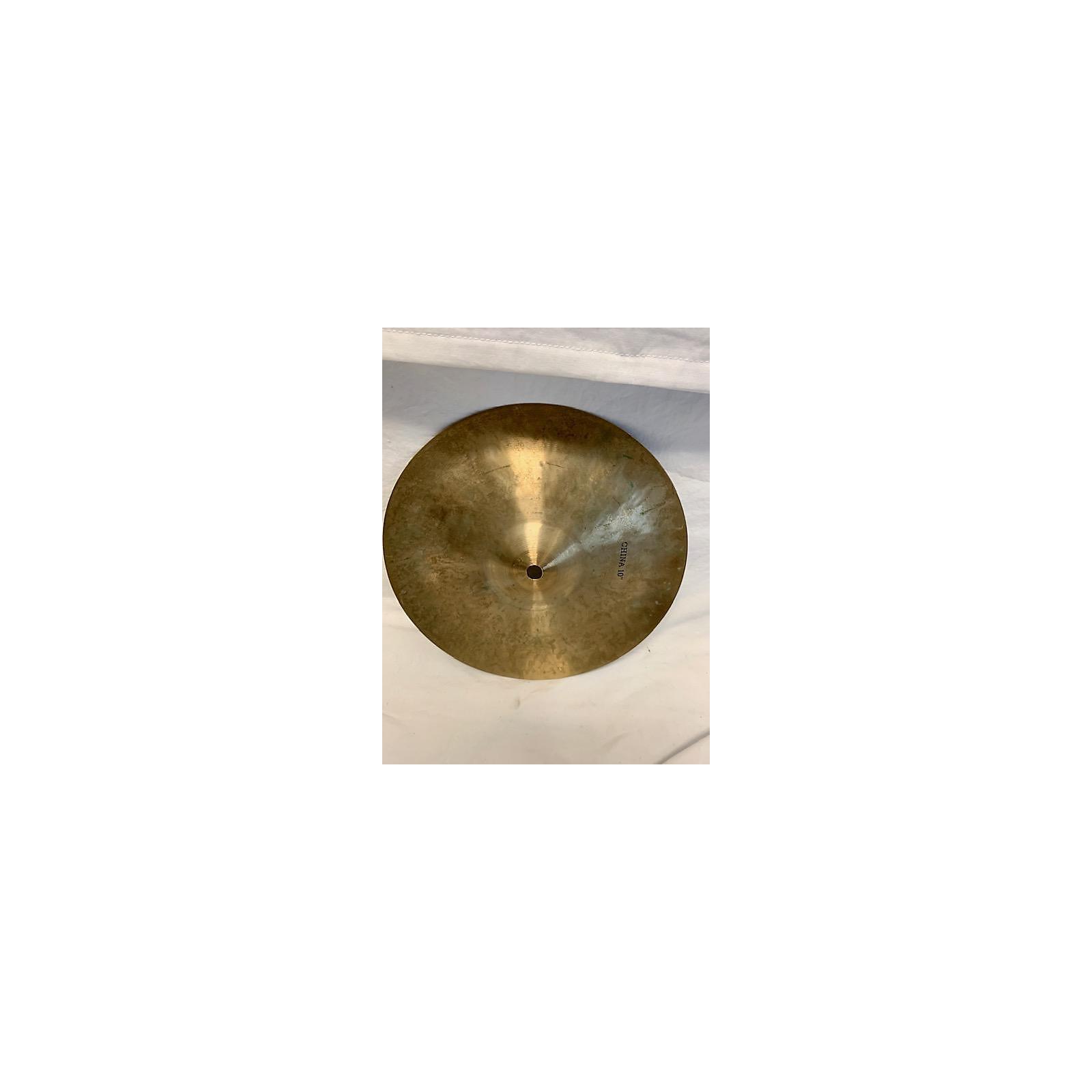 Soultone 10in Custom Series China Cymbal