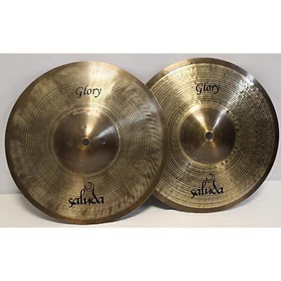 Saluda 10in Glory Hi Hats Cymbal