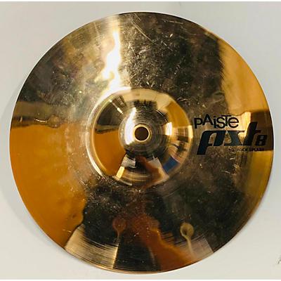 Paiste 10in PST8 ROCK SPLASH Cymbal