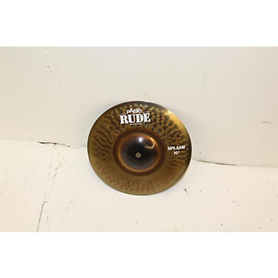 Paiste 10in Rude Splash Cymbal