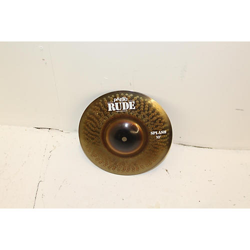 10in Rude Splash Cymbal