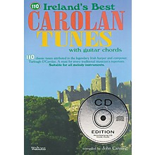 Waltons 110 Ireland's Best Carolan Tunes (with Guitar Chords) Waltons Irish Music Books Series Softcover with CD