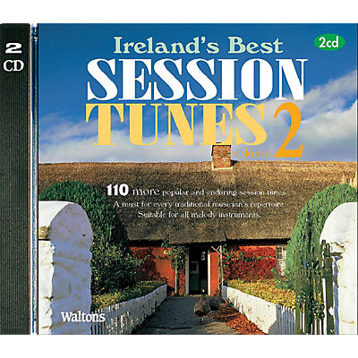 Waltons 110 Ireland's Best Session Tunes - Volume 2 (with Guitar Chords) Waltons Irish Music Books Series CD