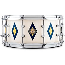 Ludwig 110th Anniversary 14x6.5 in. Legacy Mahogany Diamond Flash Snare Drum