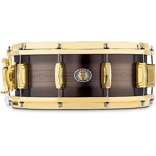 Ludwig 110th Anniversary Heirloom Black Brass Snare Drum