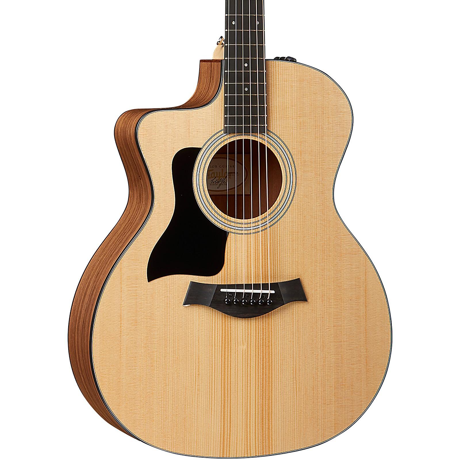 Taylor 114ce-LH Left-Handed Grand Auditorium Acoustic-Electric Guitar
