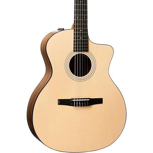taylor 114ce n grand auditorium nylon string acoustic electric guitar natural musician 39 s friend. Black Bedroom Furniture Sets. Home Design Ideas
