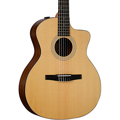 Taylor 114ce-N Rosewood Nylon String Acoustic-Electric Guitar