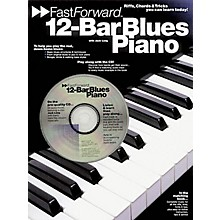 Music Sales 12-Bar Blues Piano - Fast Forward Series Music Sales America Series Softcover with CD by Jack Long