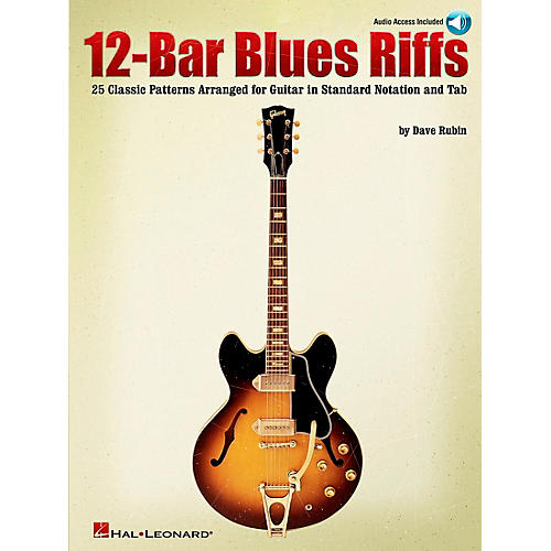 Hal Leonard 12-Bar Blues Riffs Guitar (Book/CD)