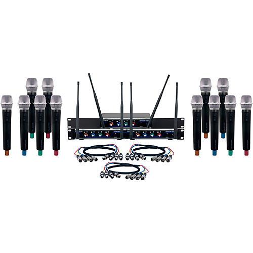 VocoPro 12 CH. UHF Wireless Handheld Microphone system