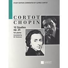 Editions Salabert 12 Etudes, Op. 25 (Piano Solo) Piano Method Series Composed by Frederic Chopin Edited by Alfred Cortot