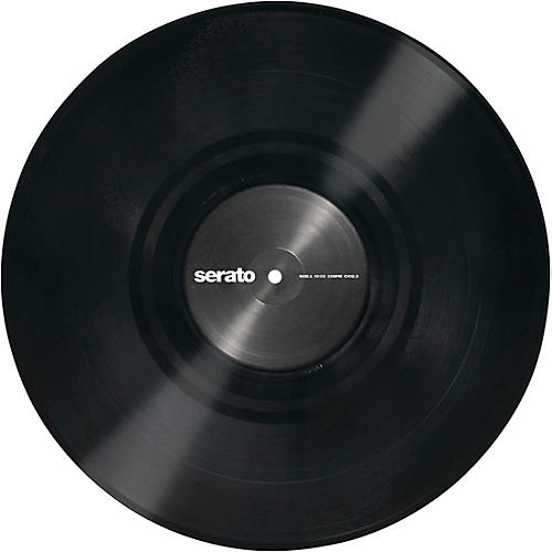SERATO 12 Inch Control Vinyl - Performance Series OFFICIAL Jacket (Pair) Black