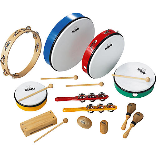Nino 12-Piece Percussion Assortment