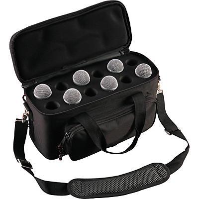 Musician's Gear 12-Space Microphone Bag