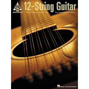 hal leonard 12 string guitar guitar tab book musician 39 s friend. Black Bedroom Furniture Sets. Home Design Ideas