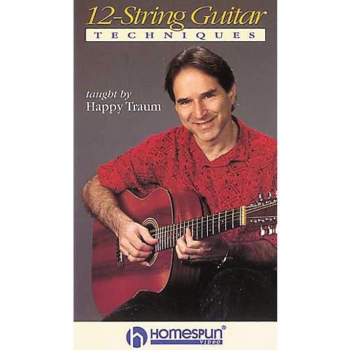 Homespun 12-String Guitar Techniques (VHS)
