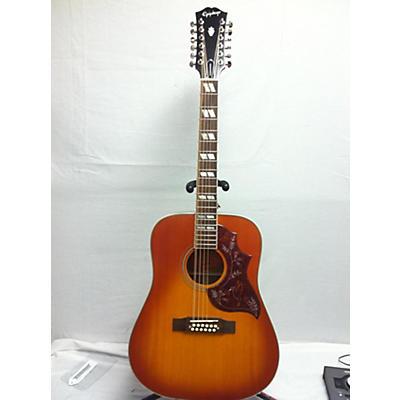 Epiphone 12 String Hummingbird 12 String Acoustic Electric Guitar