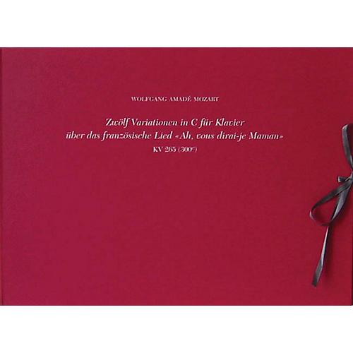 G. Henle Verlag 12 Variations on Ah Vous Dirai-je Maman (Twinkle, Twinkle Little Star) K265 (300e) Henle Facs Hardcover