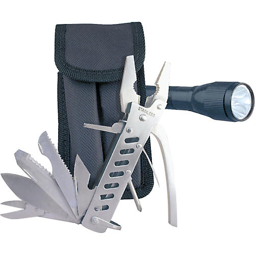 American Recorder Technologies 12-in-1 Multi-Tool with Flashlight