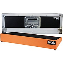 Blackbird Pedalboards 1224 12x24 Pedalboard and ATA Case Orange Tolex