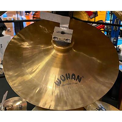 Wuhan Cymbals & Gongs 12in 12 INCH CHINA Cymbal