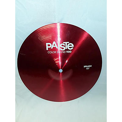 Paiste 12in 900 Series Color Sound Splash Cymbal