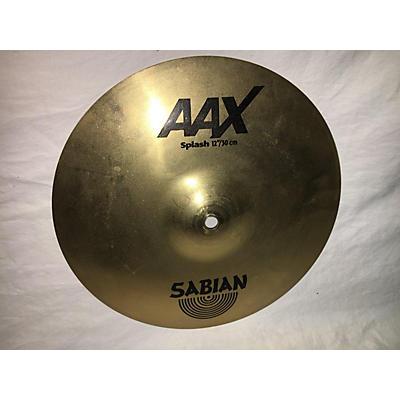 Sabian 12in AAX Splash Brilliant Cymbal