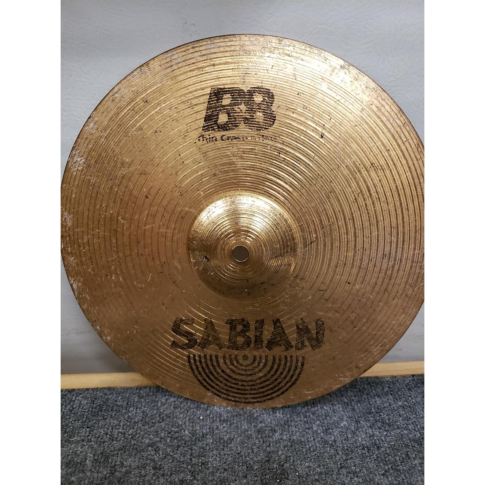 Sabian 12in B8 Thin Crash Cymbal