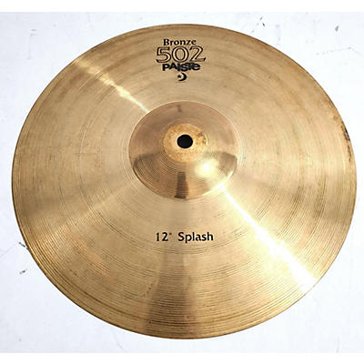 Paiste 12in Bronze 502 Cymbal